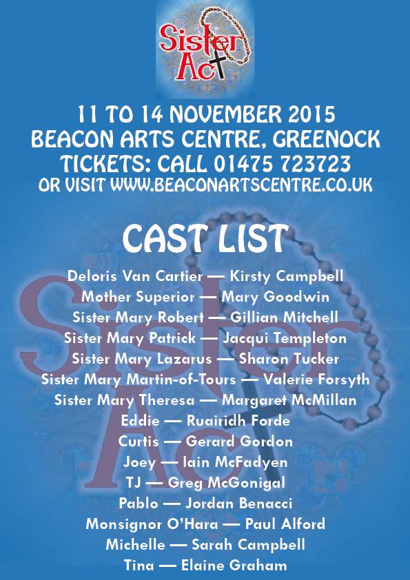 Sister Act Cast List